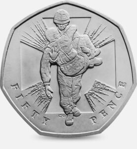 Wounded Soldier 50p