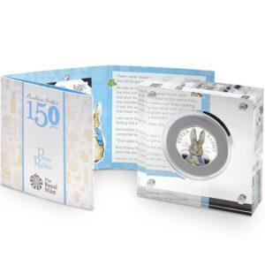 Peter Rabbit 2016 50p Silver Proof