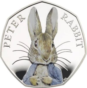 2016 Peter Rabbit 50p