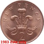 1983 new pence 2p