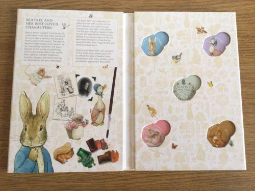 2016 Beatrix Potter 50p Coin Collector Album