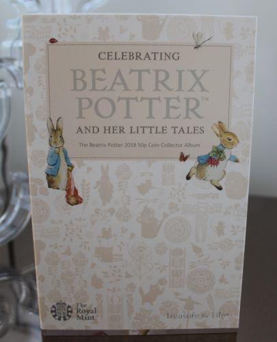 Beatrix Potter 50p Coin Album