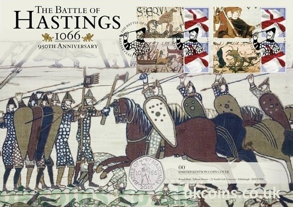 Battle of Hastings 2016 50p BU PNC