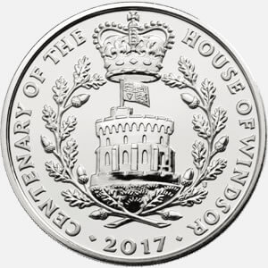The House of Windsor £5 Coin