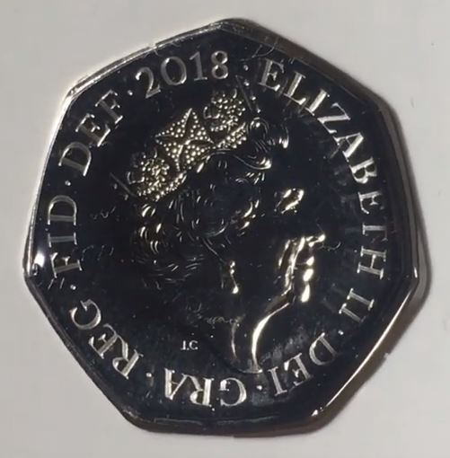 isaac newton 50p strike your own 2018
