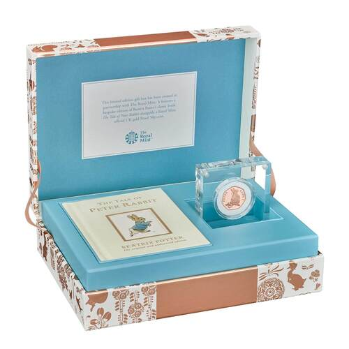 Gold Proof Coin and Book Set