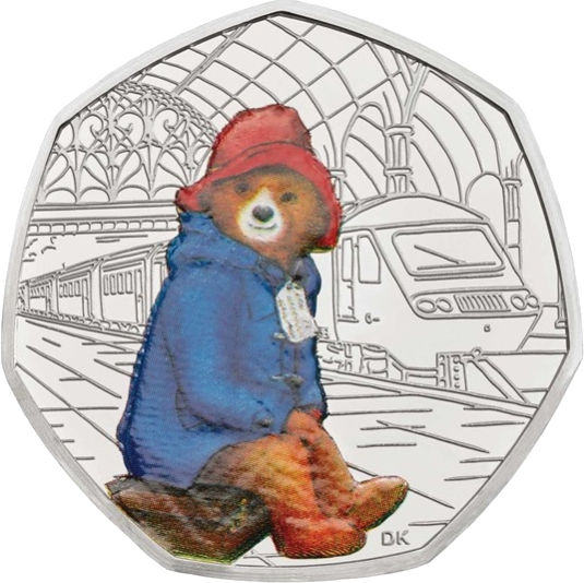 Paddington Bear 50p