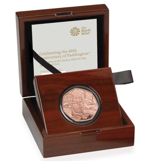 Paddington Gold Proof Coin
