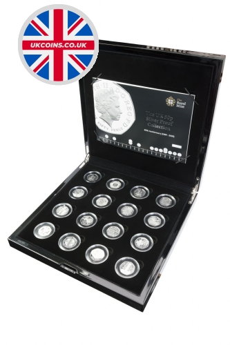 2009-40th-anniversary-50p-silver-proof-collection