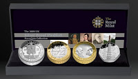 2009 Four Coin Piedfort Silver Proof Collection