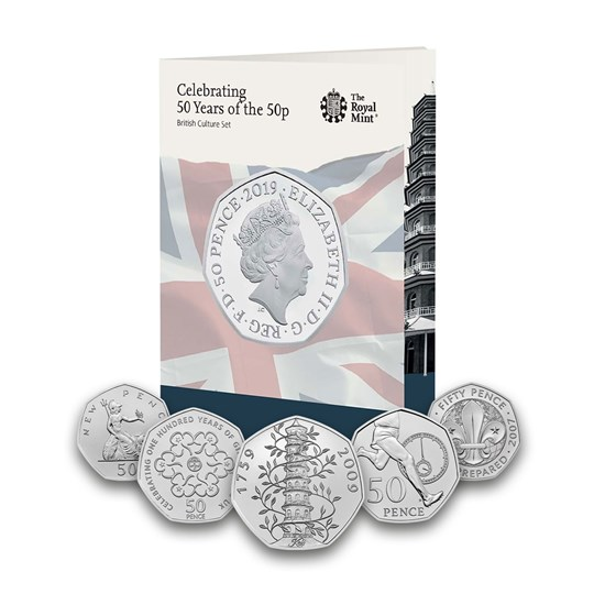 50 years of the 50p 2019