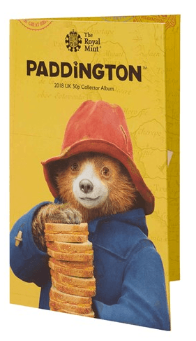 Paddington 50p Coin Collector Album