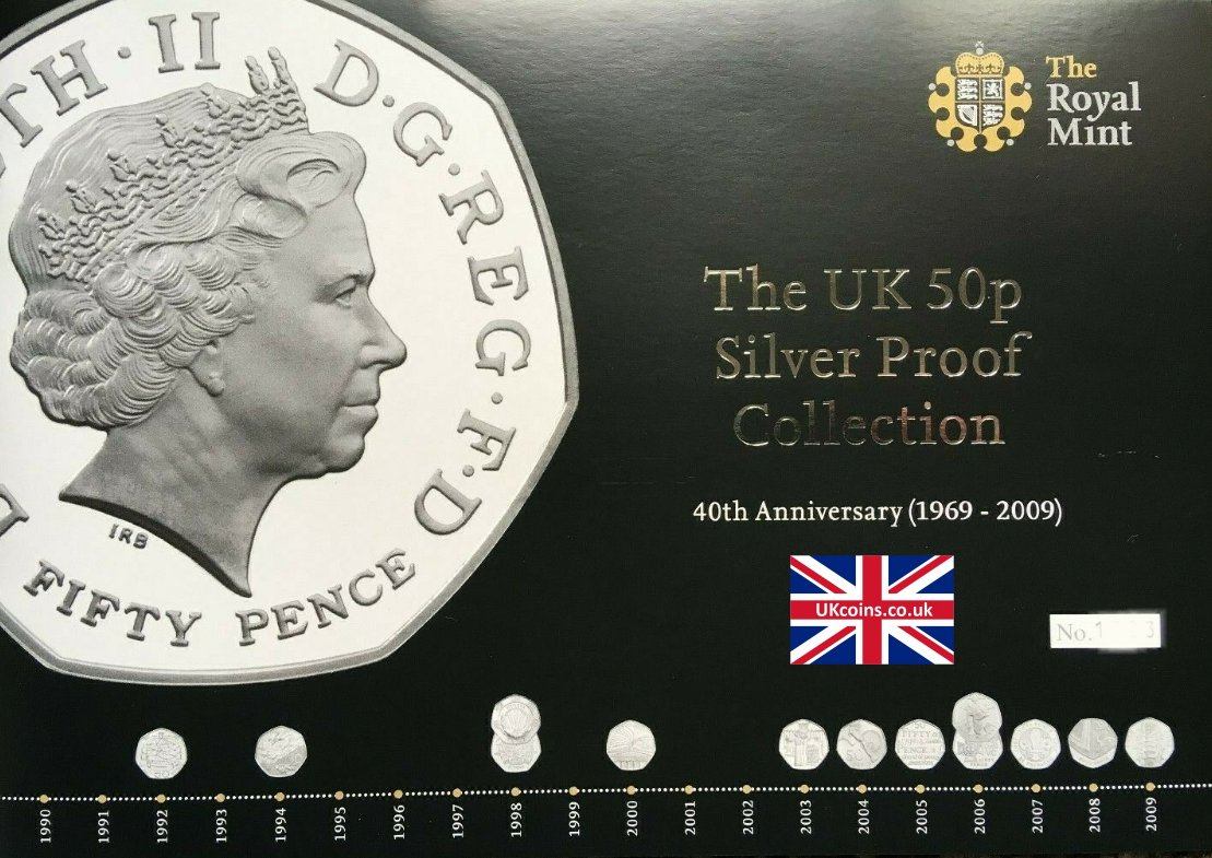 silver proof collection coa