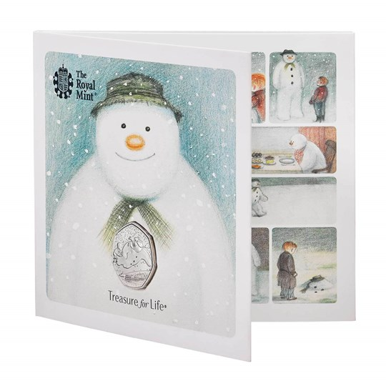 Snowman 50p BU