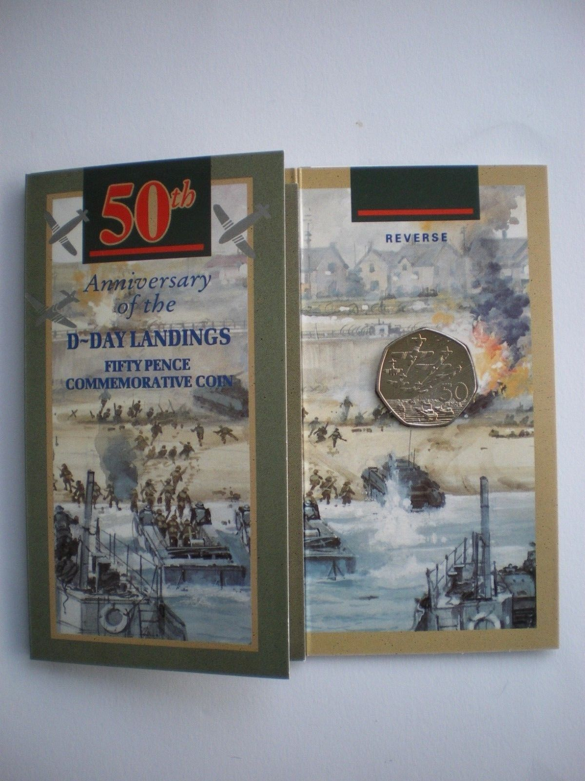 D-Day 50p Presentation Pack