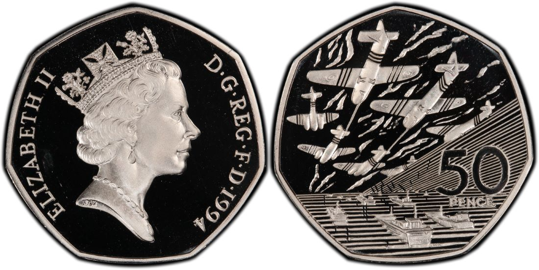 d-day 50p