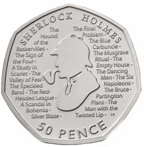 Sherlock Holmes 50p