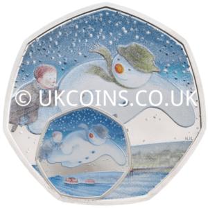Snowman 50p Error Coin