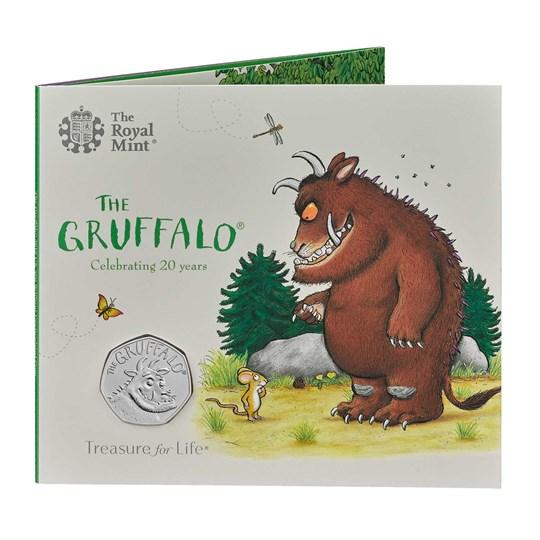 gruffalo 50p 2019 bunc coin