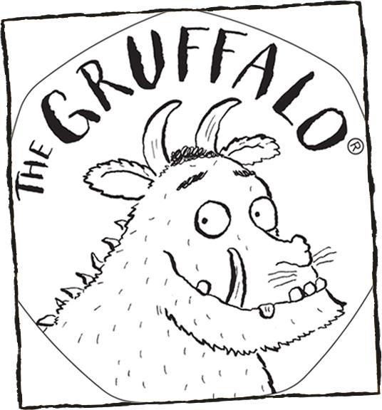 Gruffalo Colouring Book