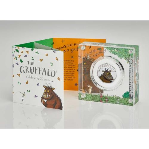 The Gruffalo Silver Proof acrylic