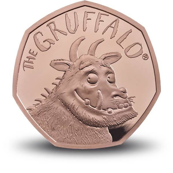 the gruffalo 50p gold proof
