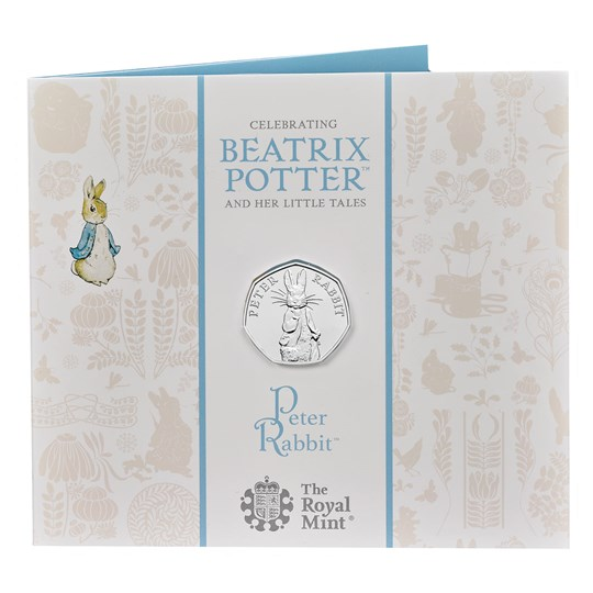 2019 Peter Rabbit 50p BU Coin Pack