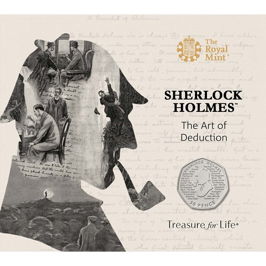 Sherlock Holmes 50p coin pack