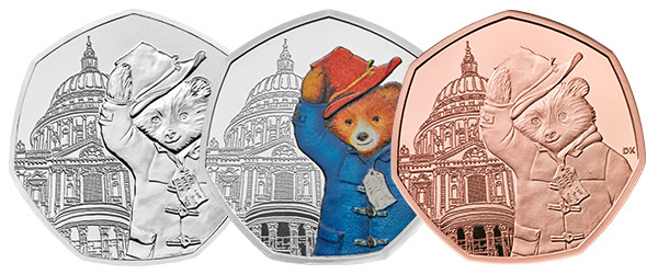 paddington at st pauls cathedral coins