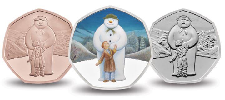 The Snowman 50p Coin