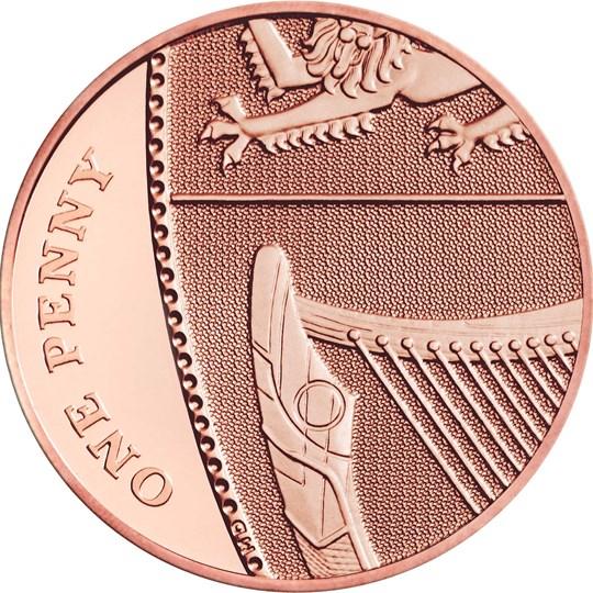 2020 1p coin