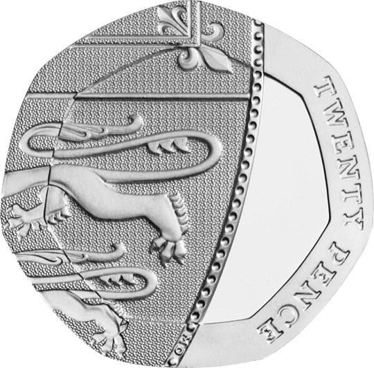 2020 20p coin