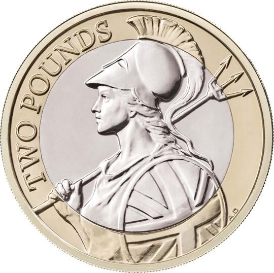 2020 £2 Coin