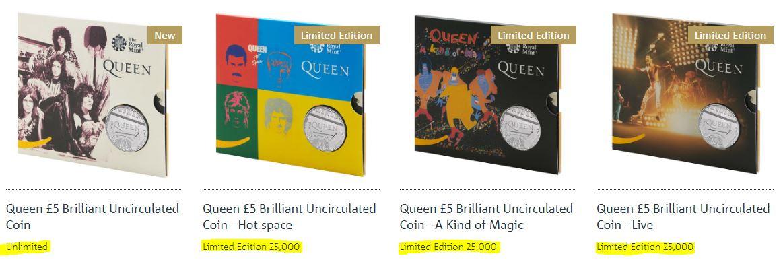 queen bunc coins