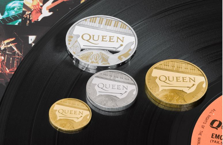 queen coins