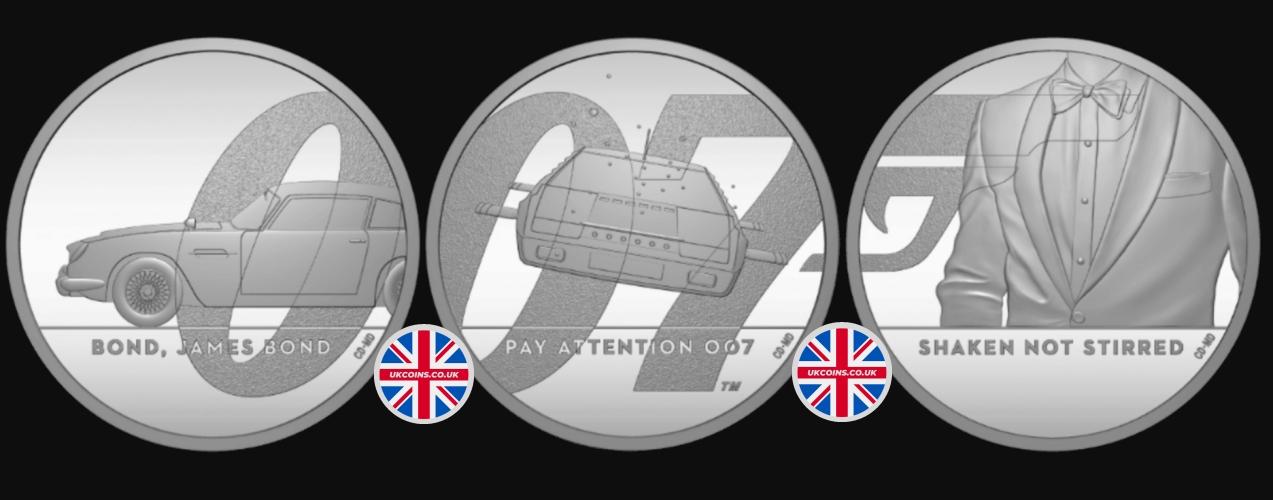 2020 James Bond Coin Collection