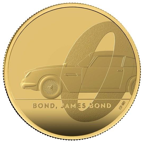 Bond, James Bond 2020 UK One Ounce Gold Proof Coin