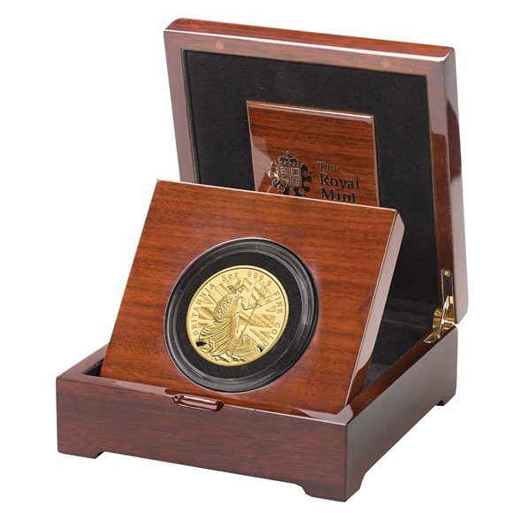2020 Britannia Five-Ounce Gold Proof Coin Limited Edition 50