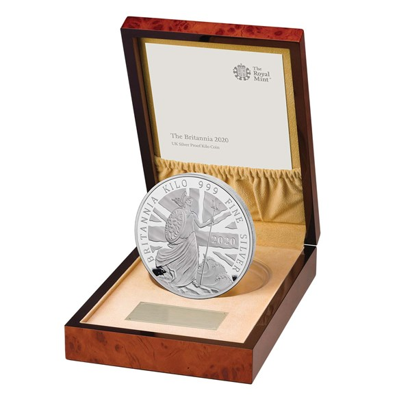 Britannia 2020 Silver Proof Kilo Coin