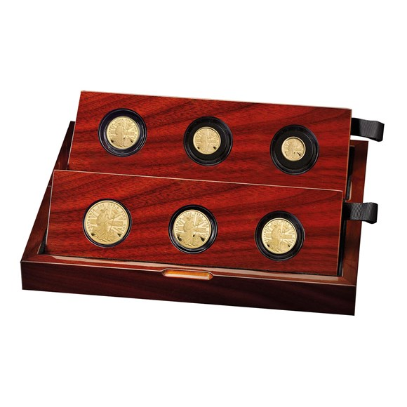 2020 Britannia Premium Six-Coin Gold Proof Set