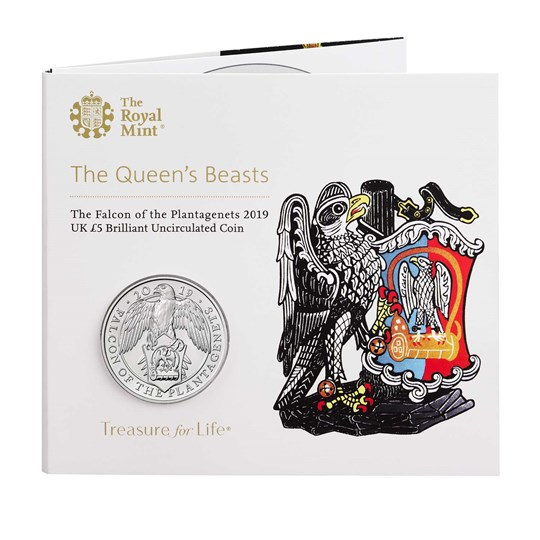 Falcon of the Plantagenets Coin Pack