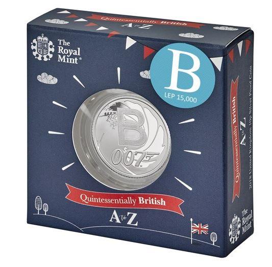 James Bond 10p Coin