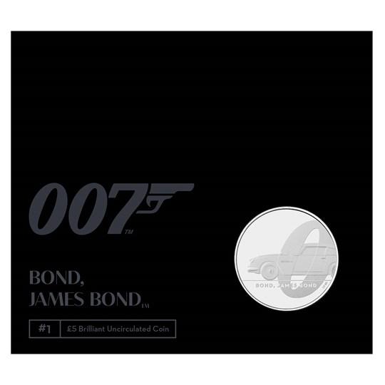 James Bond BUNC Coin