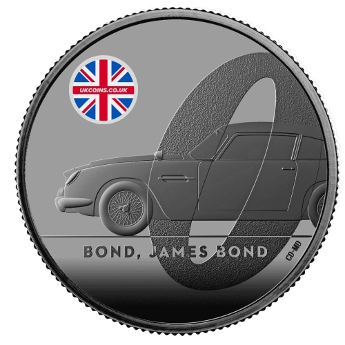 James Bond Coin