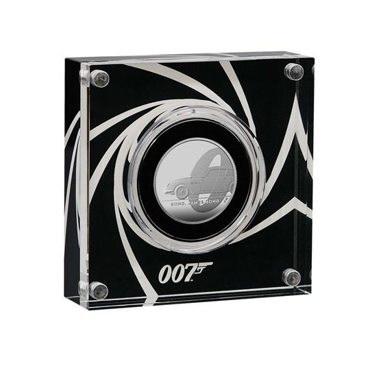 James Bond Half-Ounce Silver Proof Coin