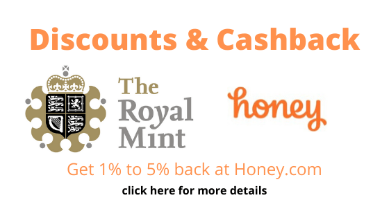 Join Honey for Discounts & Cashback at The Royal Mint