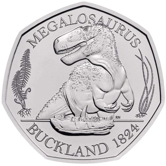 megalosaurus 50p