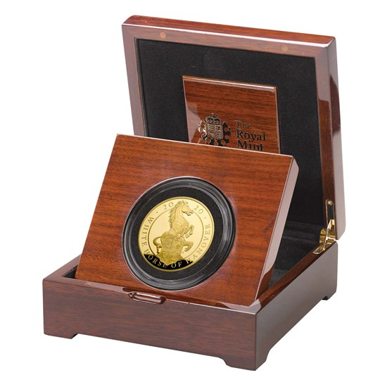 The White Horse of Hanover 2020 UK Five-Ounce Gold Proof Coin