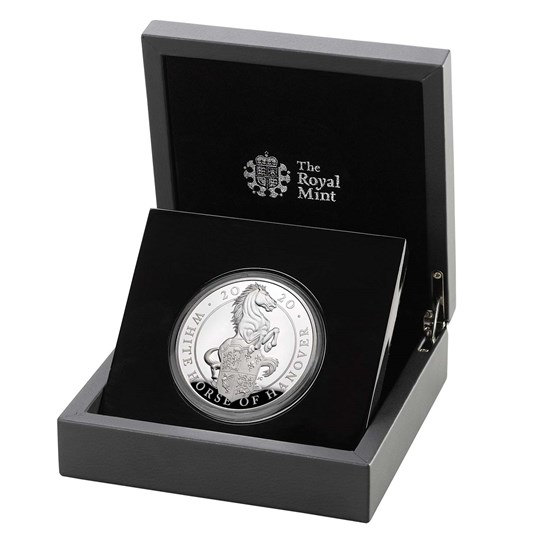 White Horse of Hanover 2020 UK Five-Ounce Silver Proof Coin