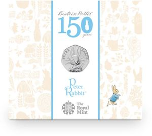 2016 Peter Rabbit 50p BU Coin Pack